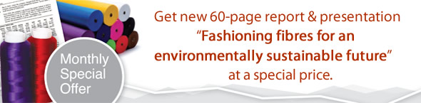Offer: Buy 'Fashioning fibres for an environmentally sustainable future' during May at a special price!