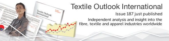 Textiles Intelligence publishes Textile Outlook International six times a year, to provide an independent and worldwide perspective on the textiles and apparel industries.